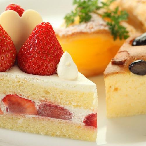 ホテル特製ケーキ
