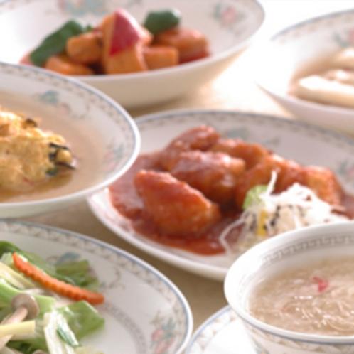 中国料理「花梨」夕食例