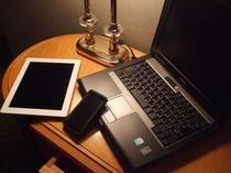 Wi-Fi,有線LAN共に接続可。無料です。