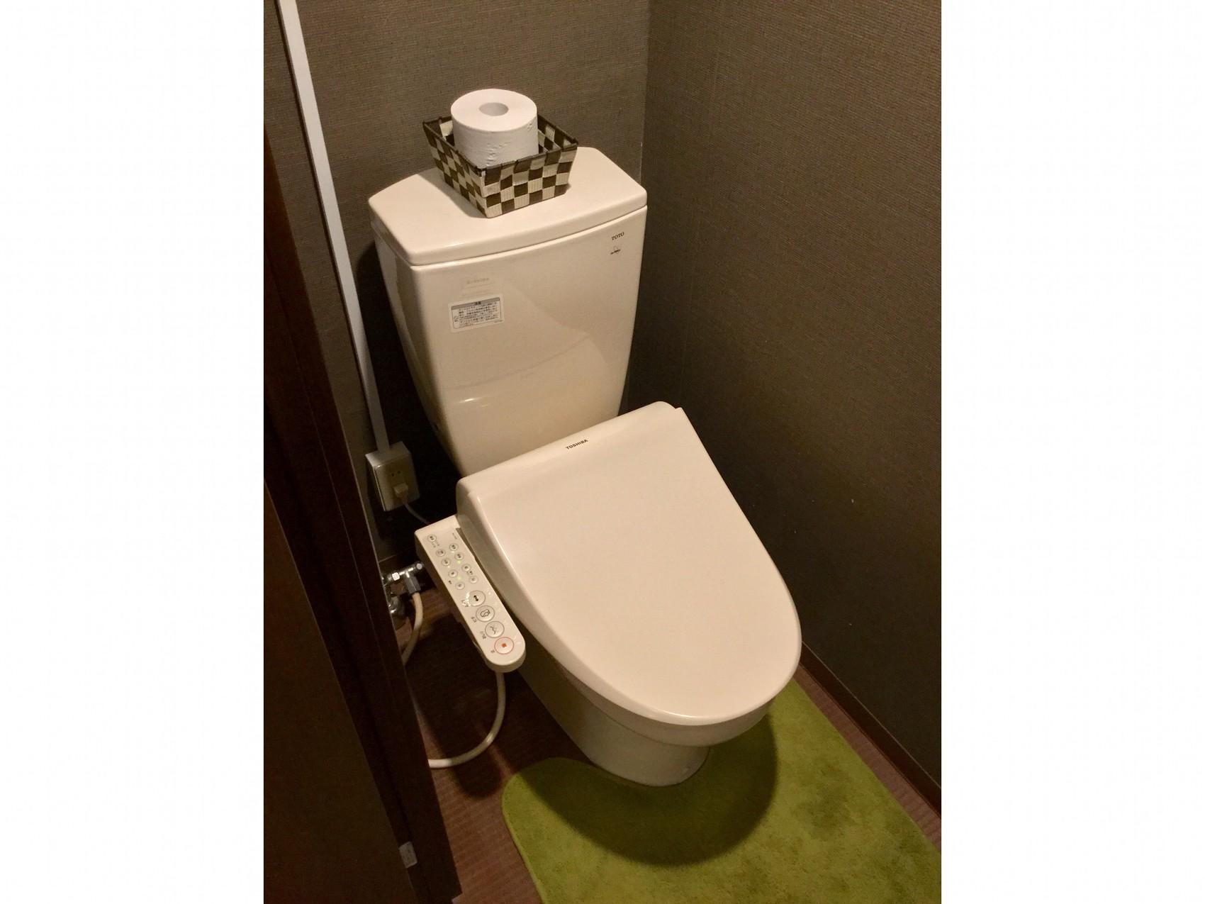 室内ウォシュレット付きトイレ