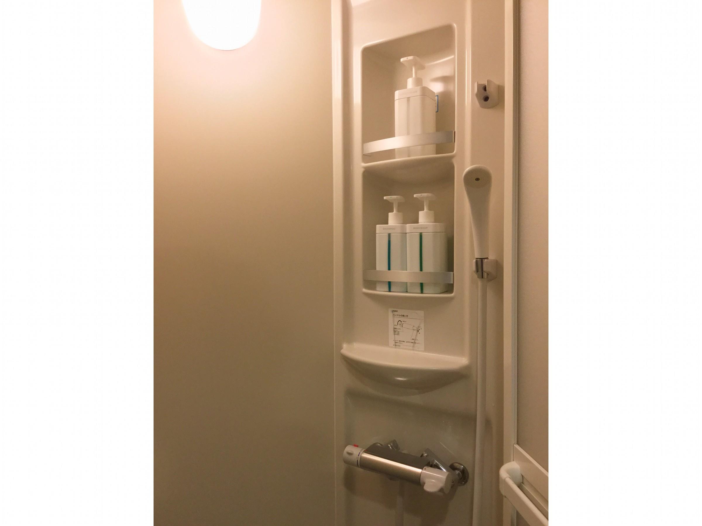 室内シャワー室