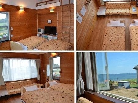 B室10畳 ロフト付ツインルーム【ソファーベッドで4名様可】