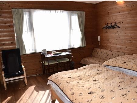 C室12畳バリアフリー【ソファーベッドご利用で3名様可】