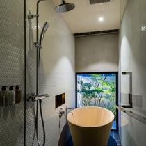 【サウスウィング】庭付ツインルーム バスルーム