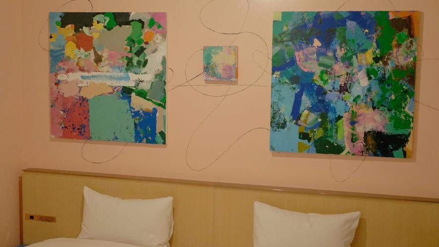 5組のアーティストが手掛けるコンセプトルーム:美術作家・宇加治志帆
