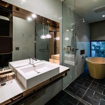 【サウスウィング】庭付ツインルーム 洗面スペース