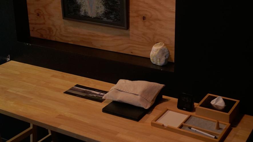 京都を拠点に活動する「KYOTO ART HOSTEL kumagusuku」によるコンセプトルーム