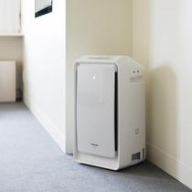 【客室アメニティ】全室に加湿機能付き空気清浄機を完備