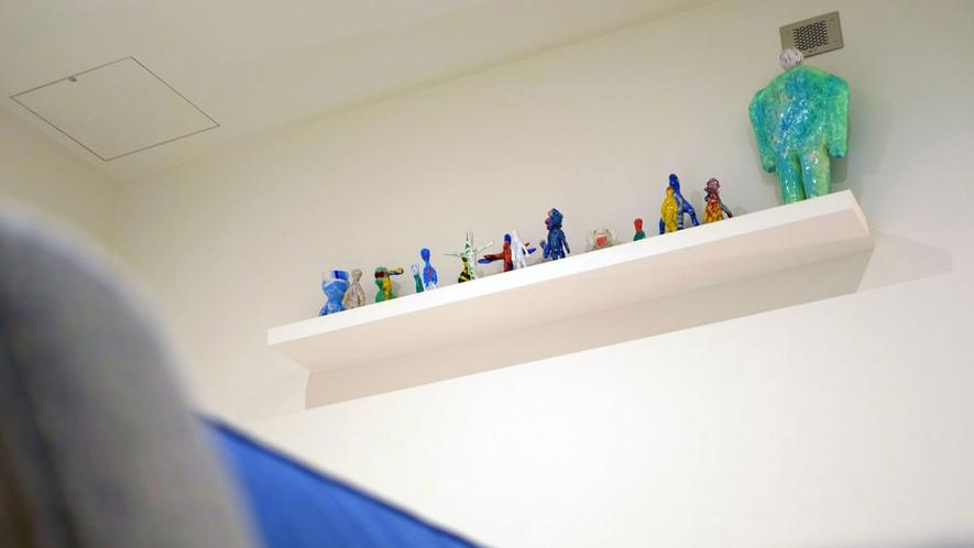 京都を拠点に活動する現代アーティスト・木村舜氏のコンセプトルーム。