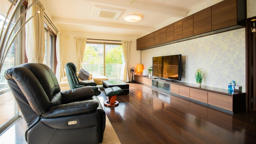 別邸:お客様のニーズに合った、それぞれのご宿泊環境に対応しております