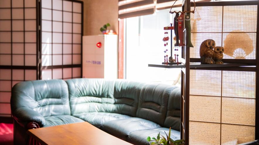 館内:休憩スペースもご利用可能です