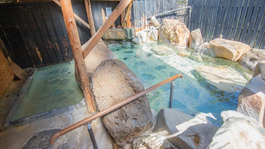 大浴場/露天風呂:高濃度アルカリ泉の湯