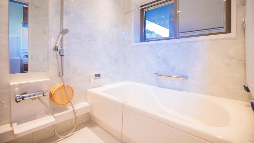 別邸:バスルーム完備でご利用いただけます