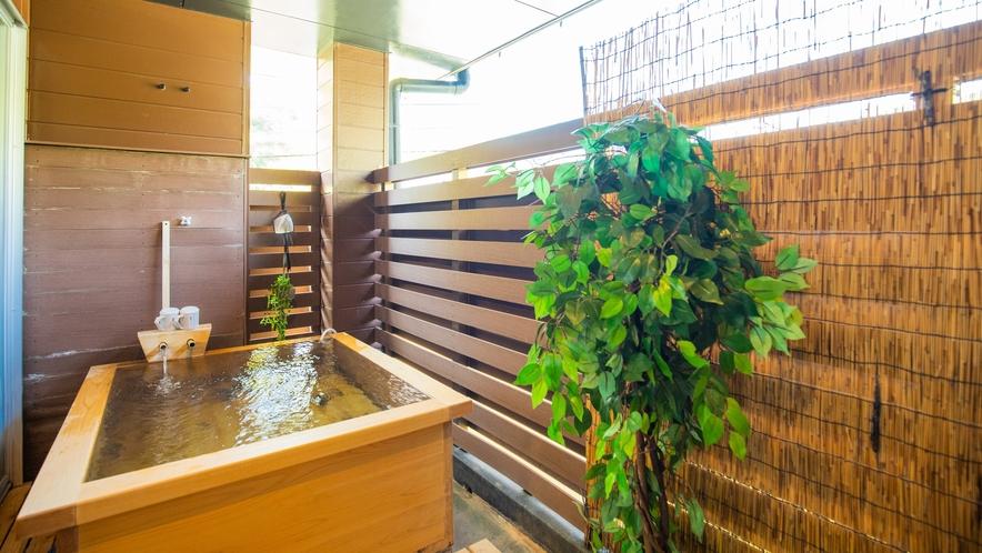 半露天檜風呂付ツイン:自分のペースでゆったり入れる贅沢な時間をお約束