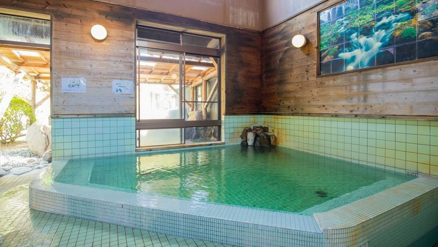 大浴場/内風呂:リューマチ・神経痛・胃腸病・皮膚病・高血圧・糖尿病・痛風などに効果的