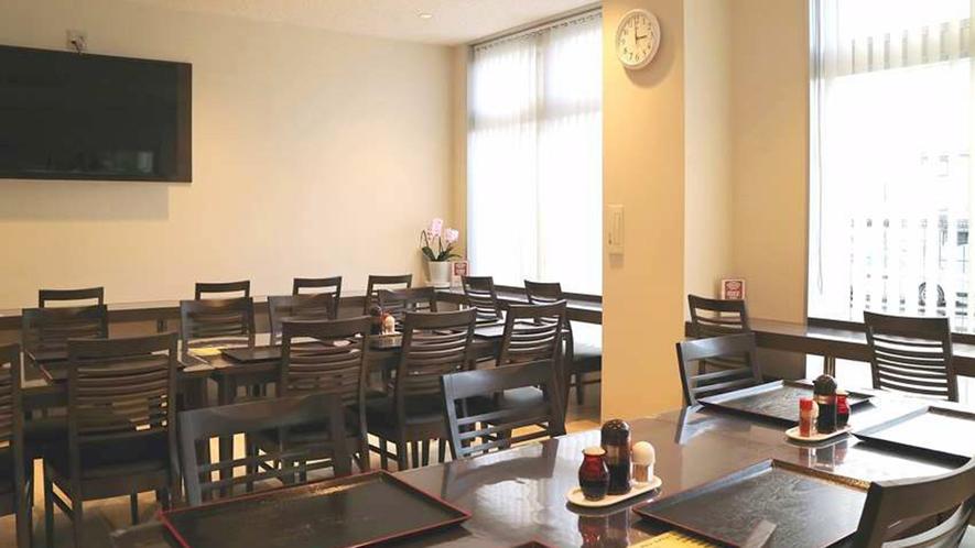 ・1階レストラン:夕食・朝食はこちらでお召し上がりください