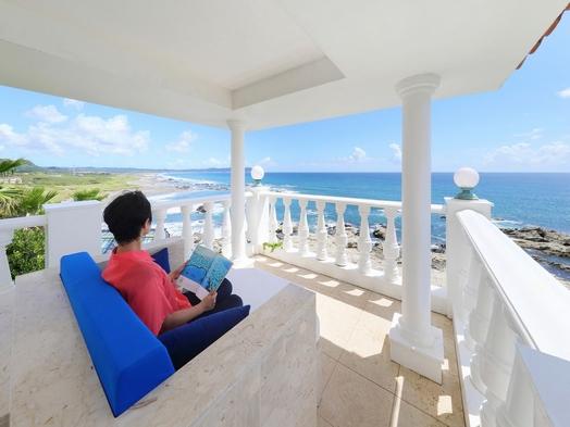 【夏秋旅セール】<基本料金>視界を遮るものがなく海しか見えない◇オーシャンフロント絶景リゾートステイ
