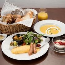 **【朝食一例】洋食