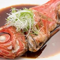 **【夕食一例】金目鯛の煮付け