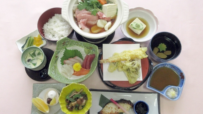 浅間山一望◆(源泉かけ流し)温泉と地産地消の料理を楽しむ