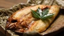 【ご朝食】[岩魚の干物]