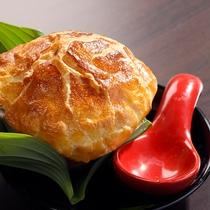 【すっぽんのパイスープ】