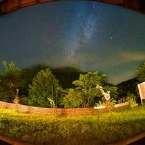 【部屋から見るアンドロメダ星雲】