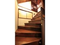 明治棟/35号室 螺旋階段
