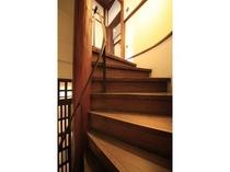 明治棟/30号室 螺旋階段