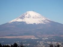 乙女峠より 富士山