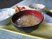 朝食-味噌汁