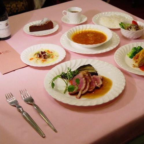 仏料理フルコースディナー