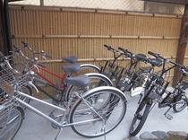 別館用 無料貸し出し自転車