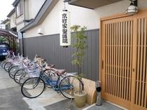 本館用 貸し自転車10台(内チャイルドシート付き2台)