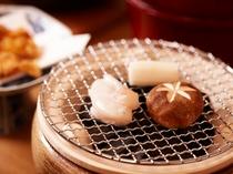 とらふぐの炭火焼(魚醤漬)