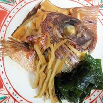 桜鯛のあら煮