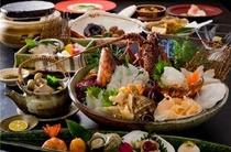 磯膳はその日の漁と季節により料理内容が変更いたします
