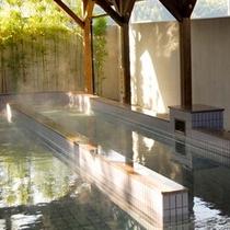 【歩行浴/七城温泉ドーム】ダイエットや腰痛緩和などに良い、歩行浴があります。