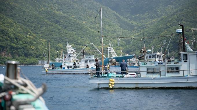 コロナ対応型一日一組限定、一泊二食係留船1日釣り放題体験プラン