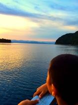 9月~10月限定プラン 【漁船で見に行く夕日に染まる富士山を見に行こうプラン】 イメージ