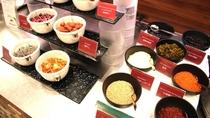 ◆メニュー充実の朝食バイキング(お粥トッピング)◆