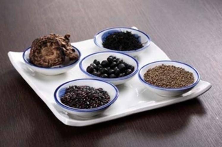 奥会津の黒の食材
