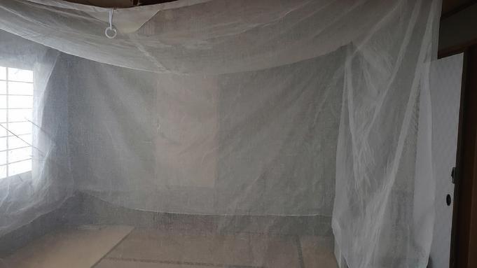 【夏休みファミリー】メインはレモン鯛しゃぶ!古都・奈良伝統の「大和蚊帳」をご用意!<個室食OK>