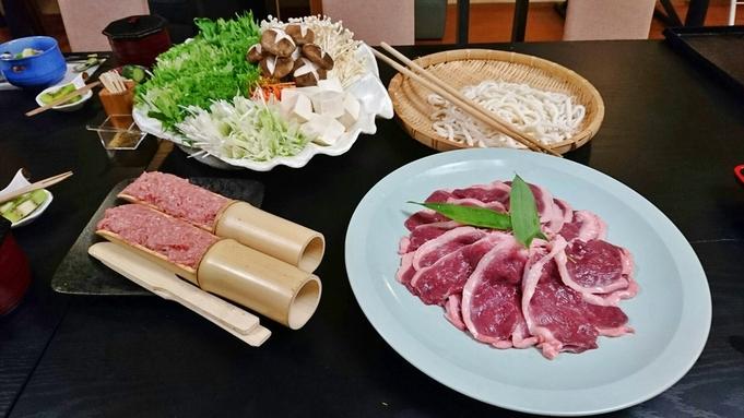 【秋冬旅セール】鴨の美味しい季節♪ならジビエ登録店で五條市産の鴨鍋。鹿の竜田揚げも!
