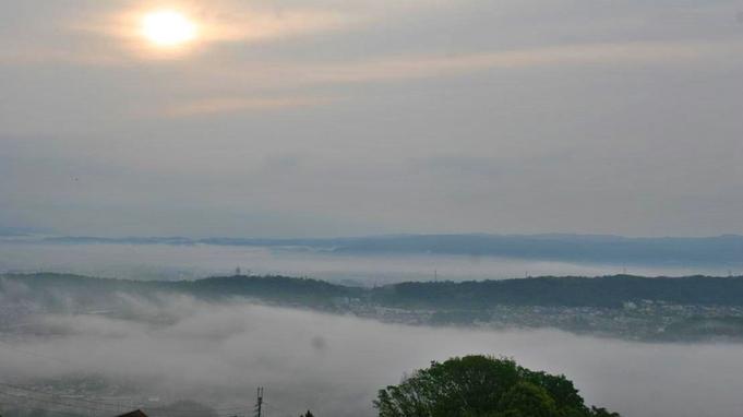 【秋冬旅セール】奈良の郷土料理「大和茶粥」の朝食付♪生駒山から望む絶景