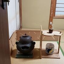 【お茶会】手軽にお茶の体験ができます。