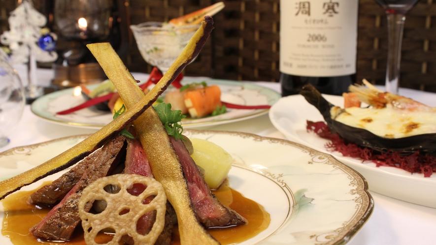 【夕食一例】クリスマスディナー