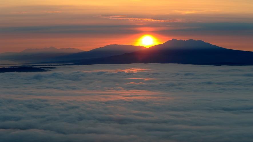 【周辺風景】津別峠の雲海