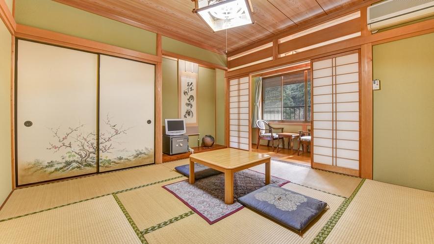 *別館 和室/自然に囲まれた閑静なお部屋でお寛ぎ下さい。