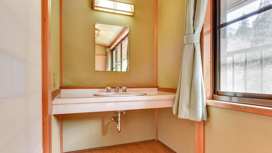 *別館 和室/洗面設備を完備したお部屋です